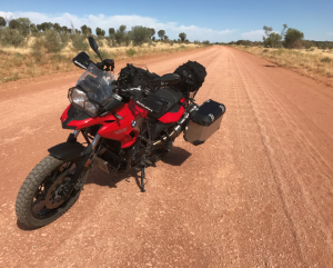 BMW F700GS (Red Centre Wayにて)