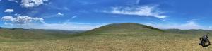 ナライハ近郊の峠のセロー(モンゴル)